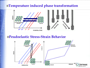 Pseudoelastic and Shape Memory Behavior